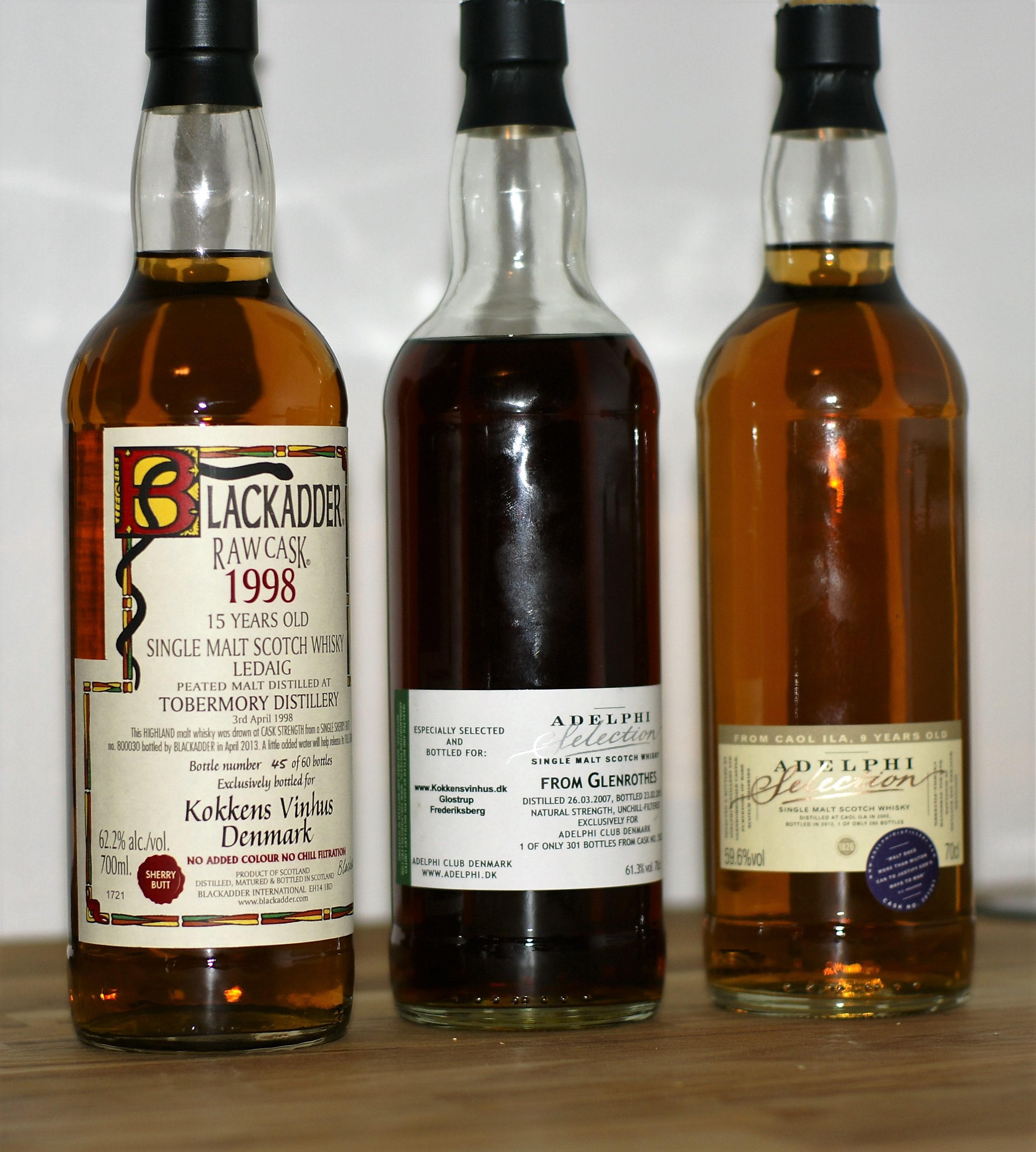 Whisky – Hur stavas det?