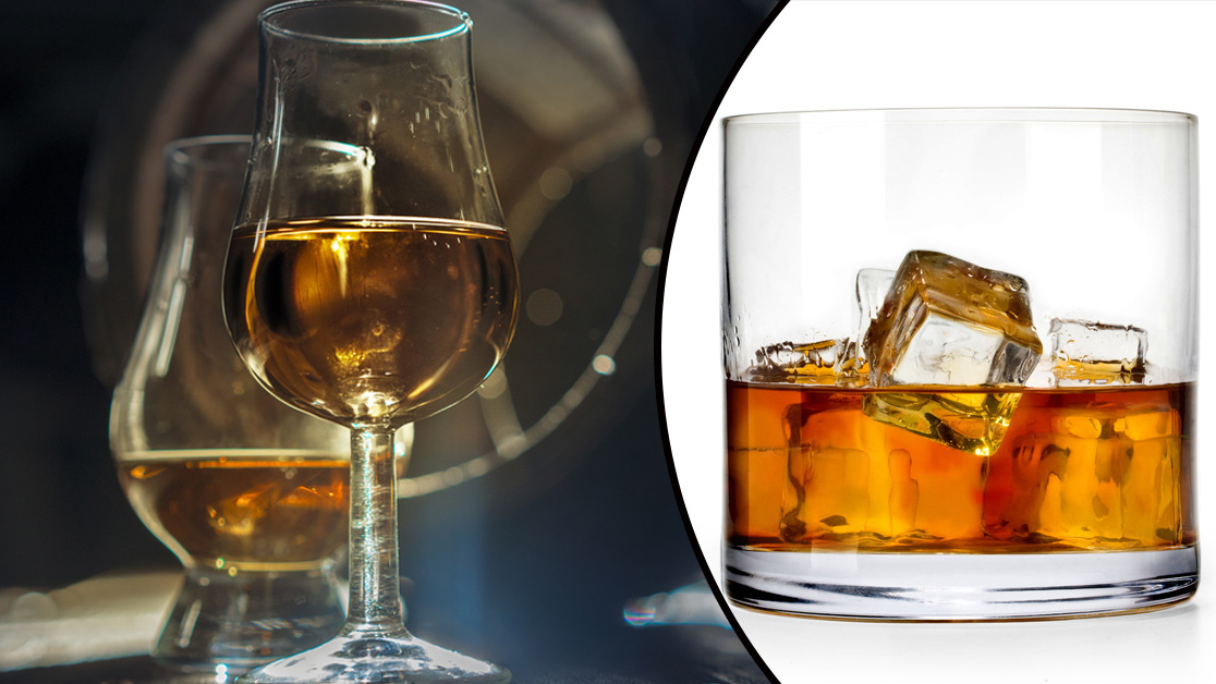 Whisky och rätt temperatur